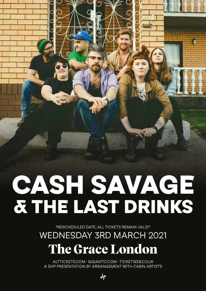 CASH SAVAGE & THE LAST DRINKS