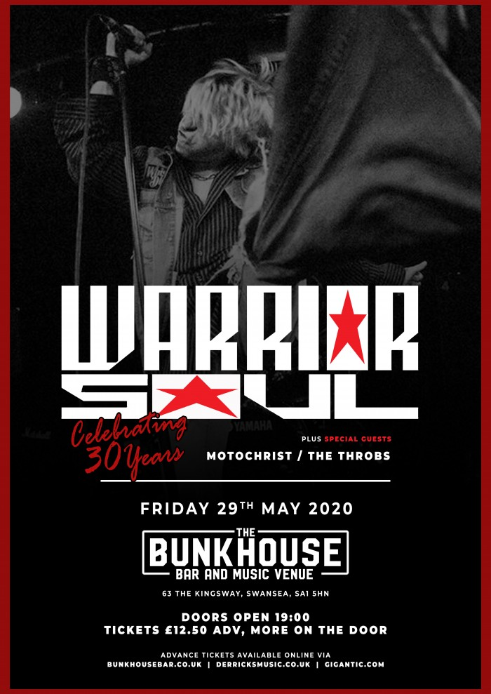 Warrior Soul - 30th Anniversary Tour