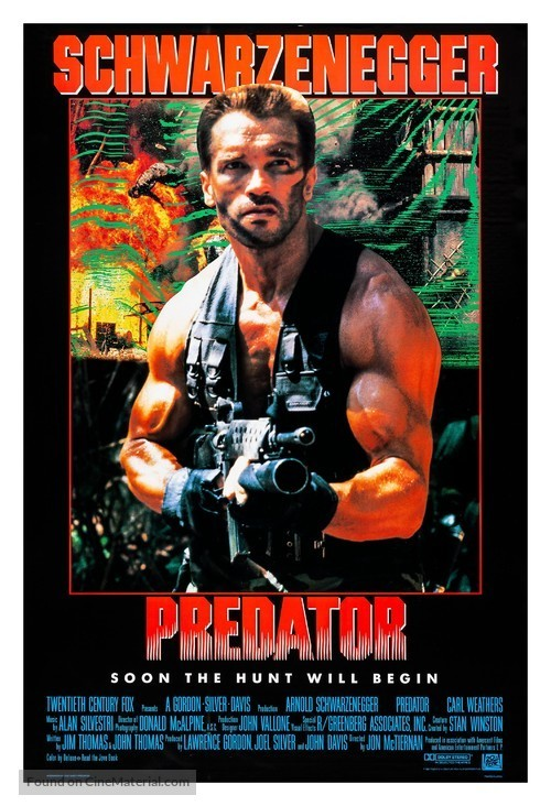Fortune & Glory Film Club Presents: Predator