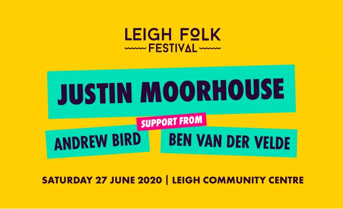 Leigh Folk Festival - Justin Moorhouse