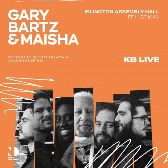 KB Live presents: Gary Bartz & Maisha