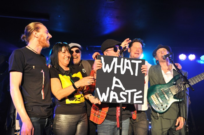 What A Waste - Ian Dury & The Blockheads Tribute