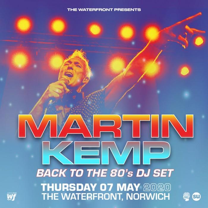 Martin Kemp - Back to the 80's DJ Set