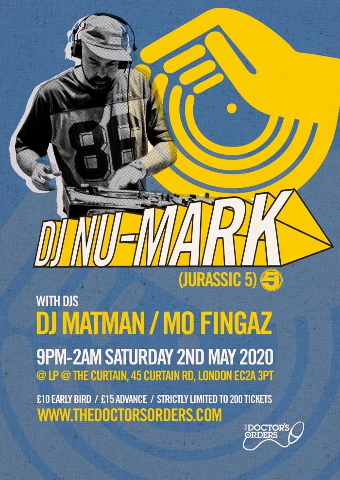 DJ NU-MARK (Jurassic 5)