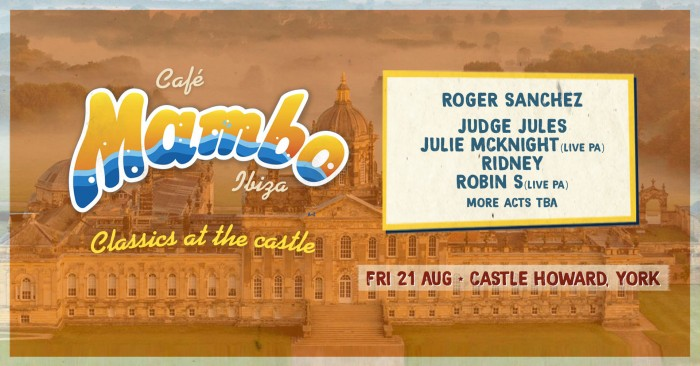 Cafe Mambo - Classics at the Castle