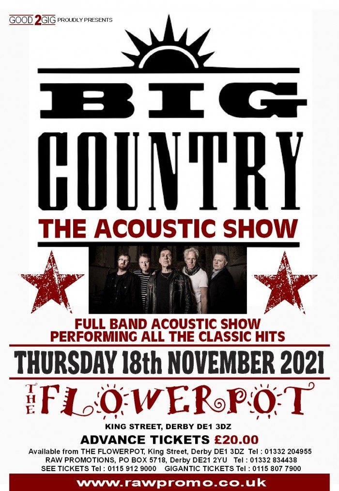 Big Country - Full Band Acoustic Show