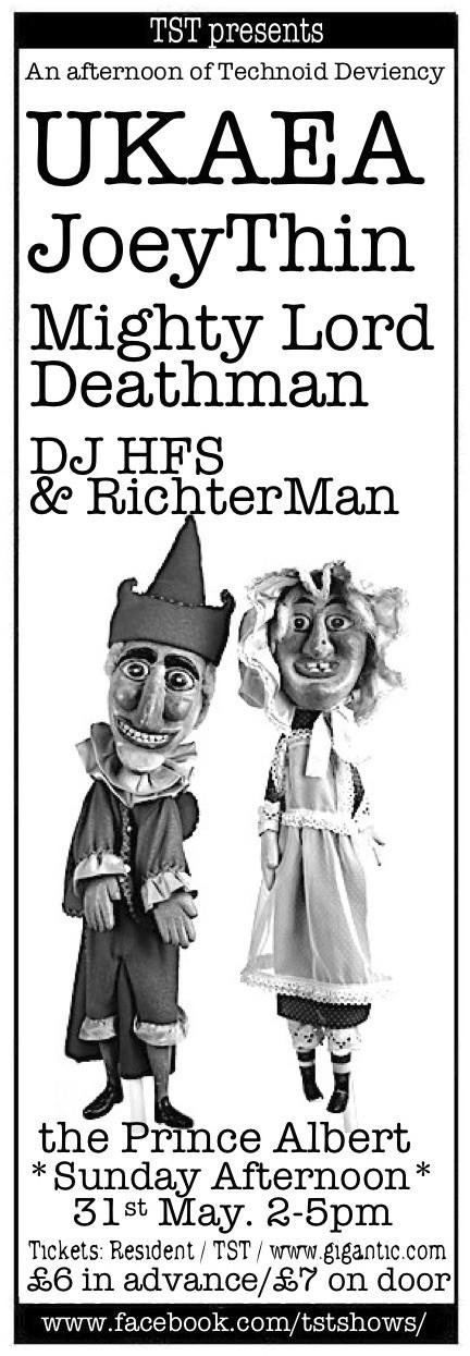 UKAEA / JOEYTHIN / MIGHTY LORD DEATHMAN / DJ HFS & RICHTERMAN