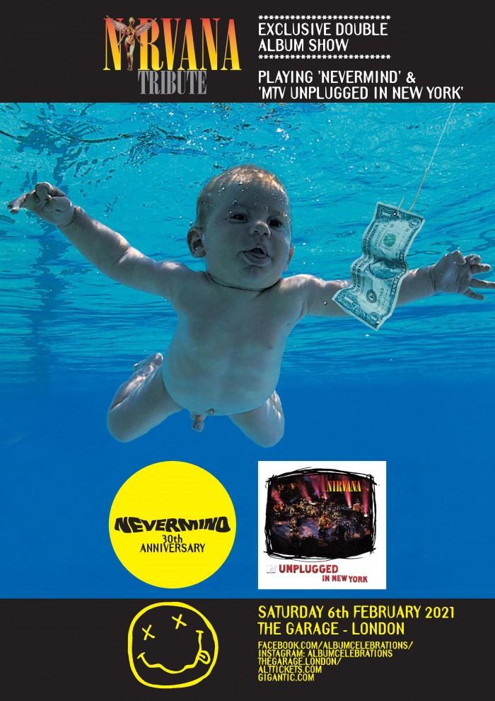 Nirvana Tribute presents - **DOUBLE ALBUM SHOW**