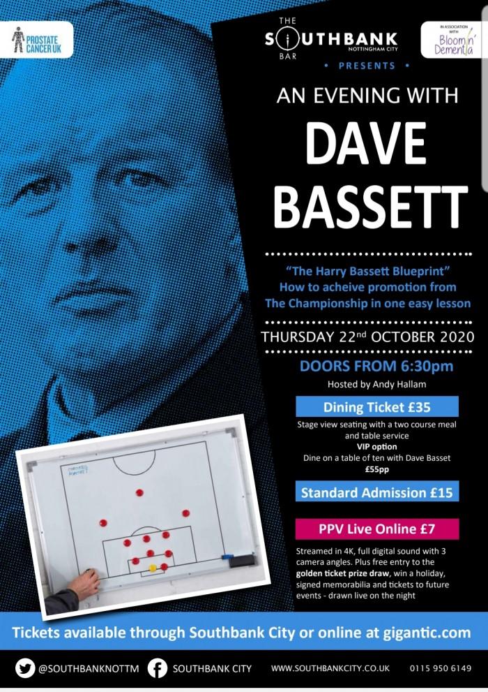 An Evening with Dave Bassett