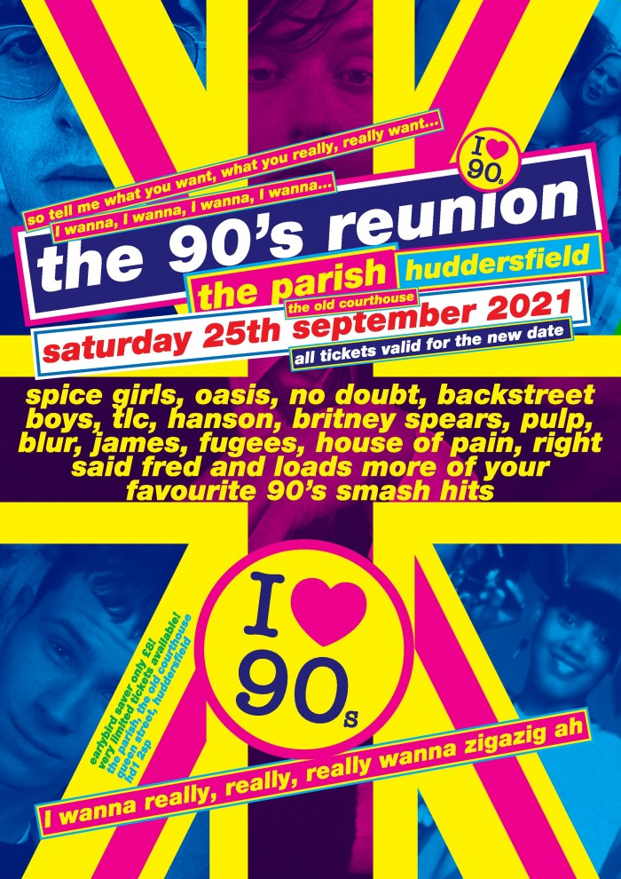 The 90's Reunion - All New 90's Party!