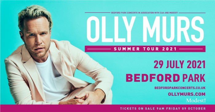 Olly Murs Live In Bedford Park
