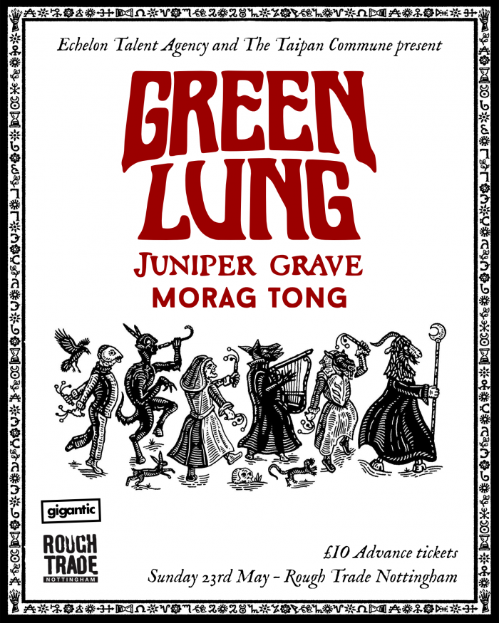 Green Lung / Juniper Grave / Morag Tong