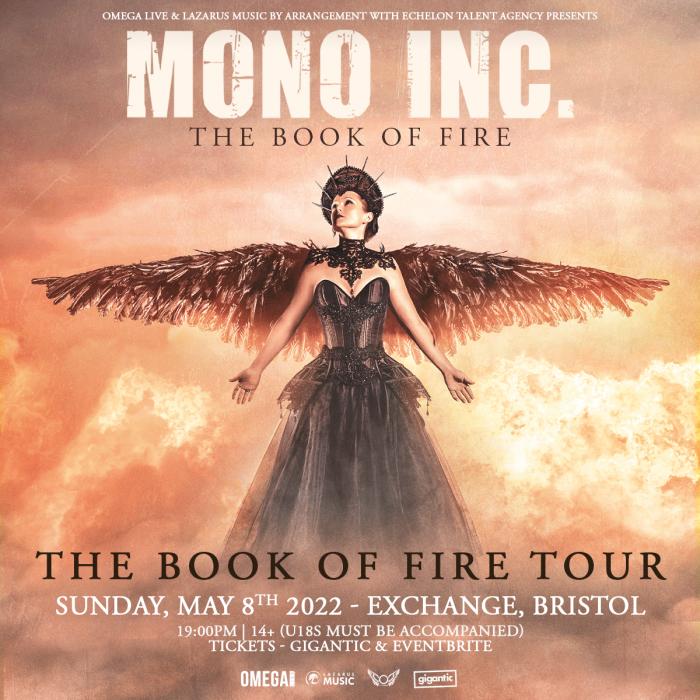 Mono Inc at Exchange, Bristol