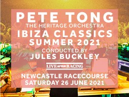 Pete Tong & The Heritage Orchestra Live After Racing