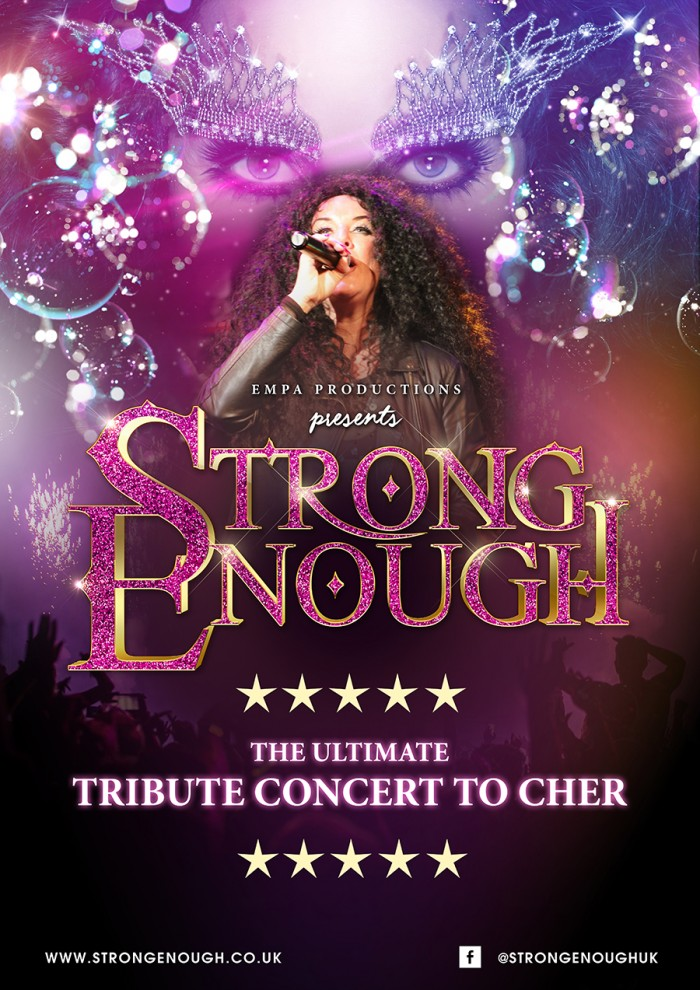Strong Enough- Ultimate tribute concert to Cher
