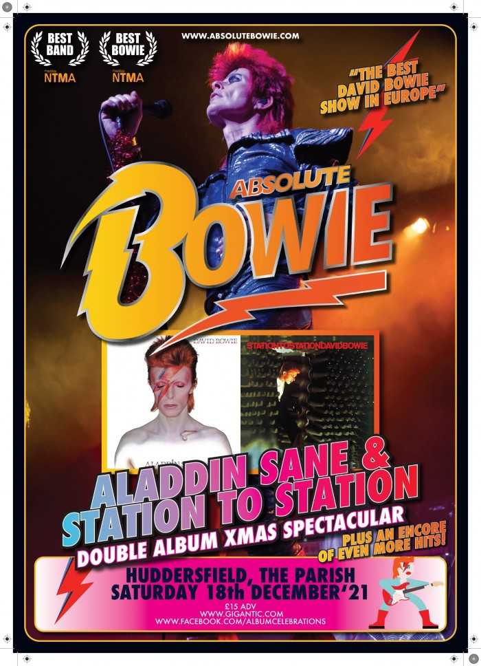 Absolute Bowie play Aladdin Sane & Station To Station