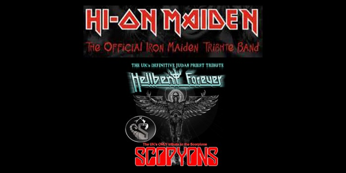 Maiden, Scorpions and Priest tributes at MFN