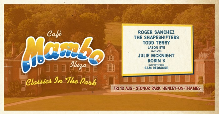 Cafe Mambo Classics in the Park - Henley-On-Thames