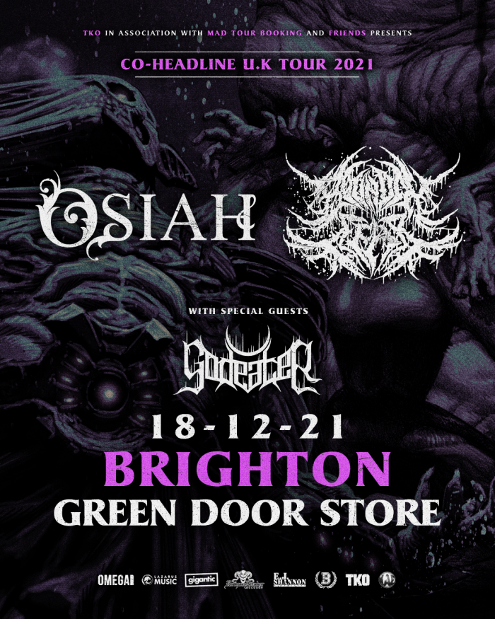 Osiah & Bound In Fear at The Green Door Store, Brighton