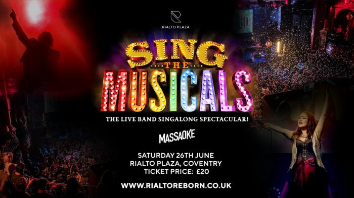 Massaoke: Sing The Musicals