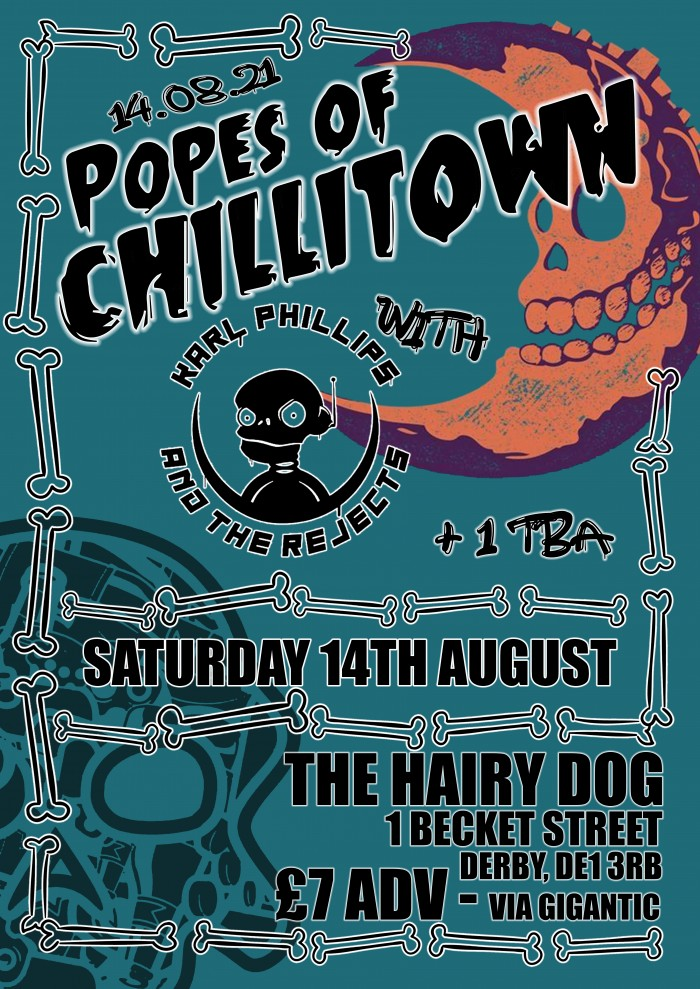 Popes of Chillitown w/ Karl Phillips & The Rejects
