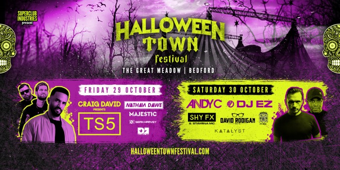 Halloween Town Festival Day 2: Andy C and DJ EZ co-headline