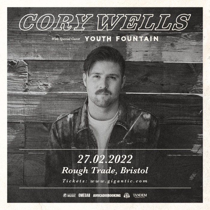 Cory Wells plus Youth Fountain at Rough Trade, Bristol