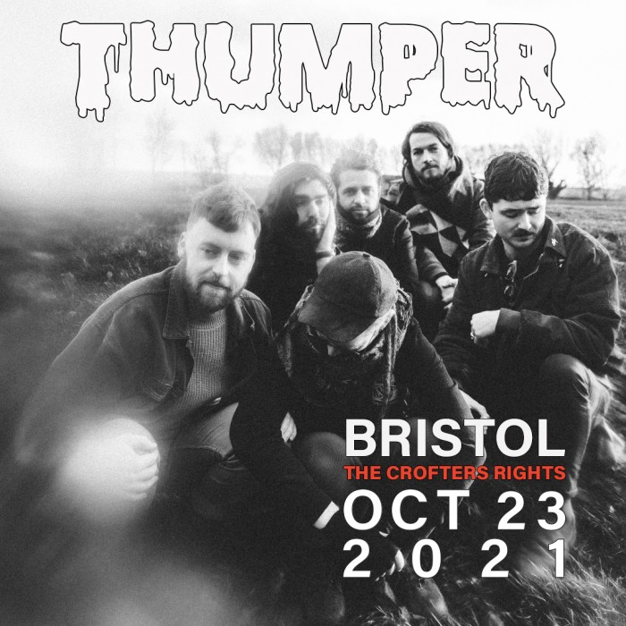 Thumper at The Crofters Rights, Bristol