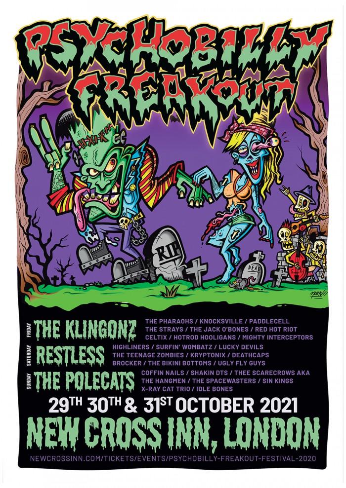 Psychobilly Freakout Festival 2021