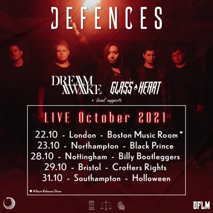 Defences plus Dream Awake at Crofters Rights, Bristol