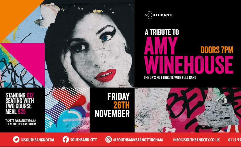 A tribute to Amy Winehouse tickets