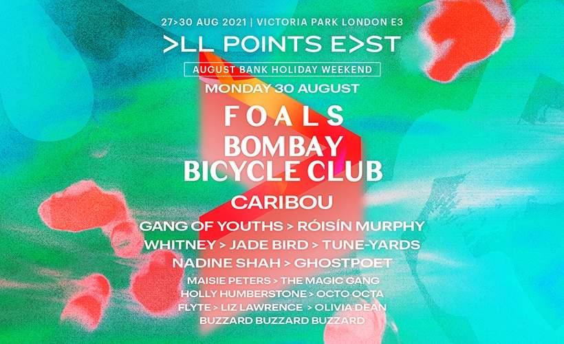 All Points East Festival: Foals and Bombay Bicycle Club tickets