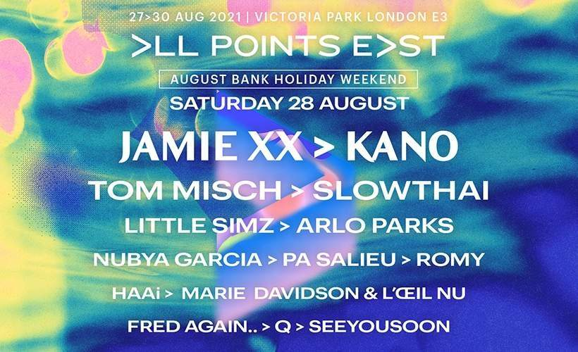 All Points East Festival: Jamie XX and Kano tickets