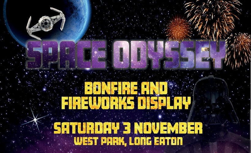 Erewas Borough Council. Space Odyssey Bonfire and Fireworks Display  tickets