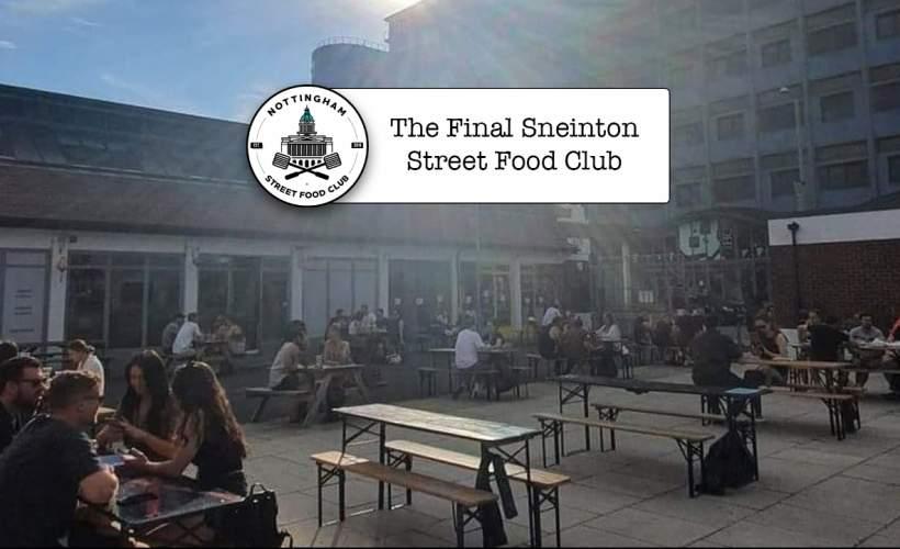 Last Sneinton Street Food Club of the Summer tickets