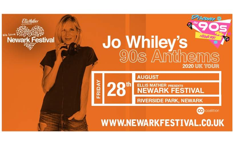 Newark Festival - Discover the 90s tickets