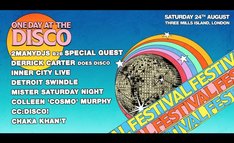 One Day At The Disco Festival tickets