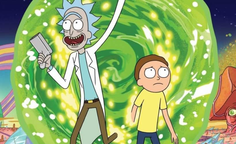Rick and morty pub quiz tickets