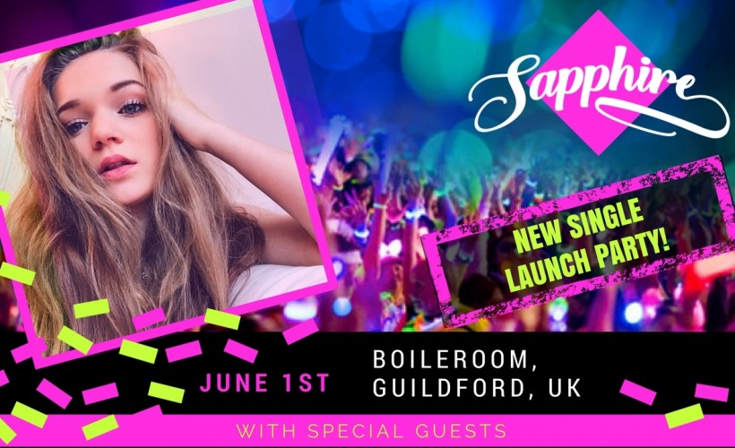 Sapphire: Single Launch Party tickets