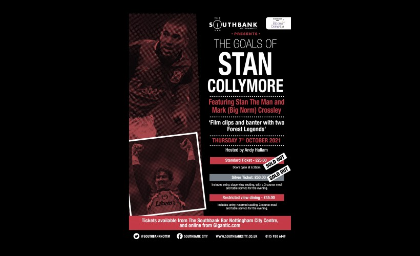 The Goals of Stan Collymore featuring Mark 'Big Norm' Crossley tickets