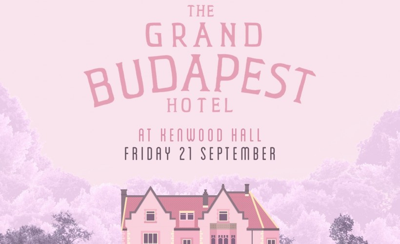 The Village Screen pop-up cinema presents The Grand Budapest Hotel at Kenwood Hall Hotel tickets