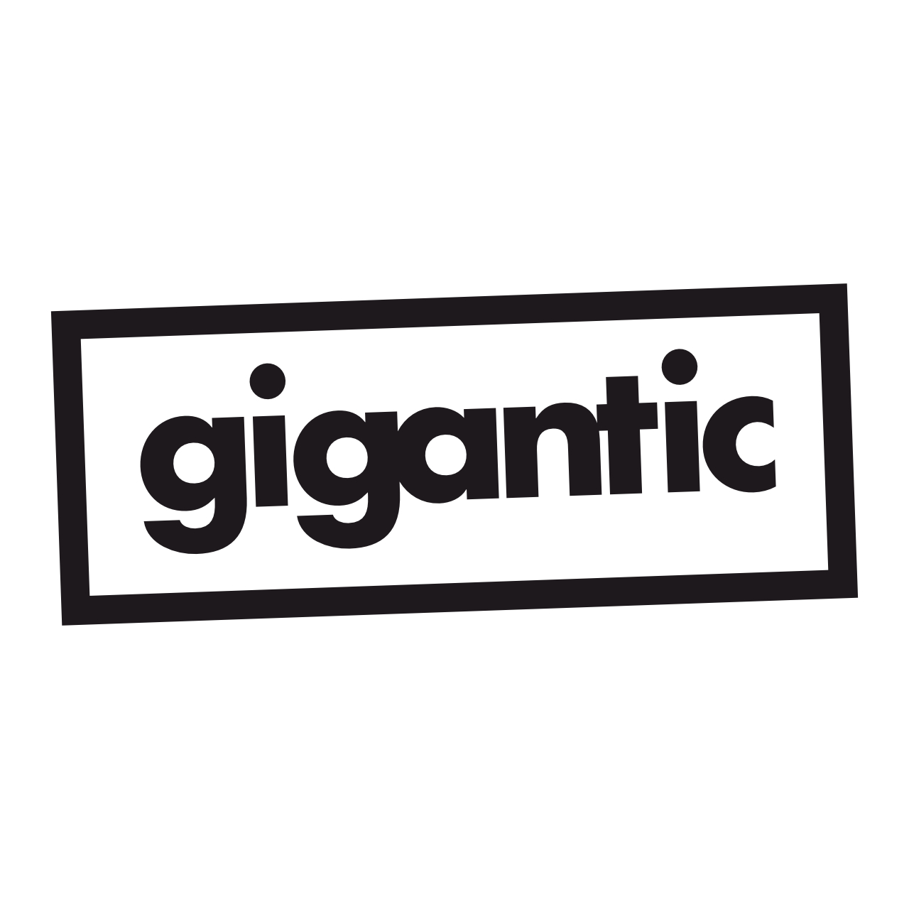 Gigantic Logo Black